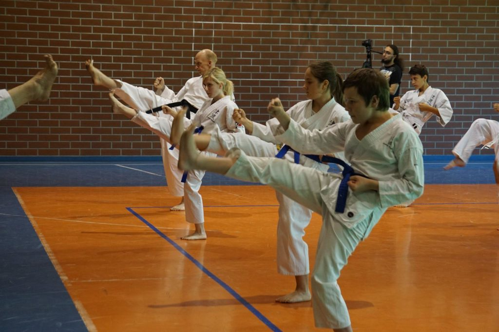 Trening karate Tsunami